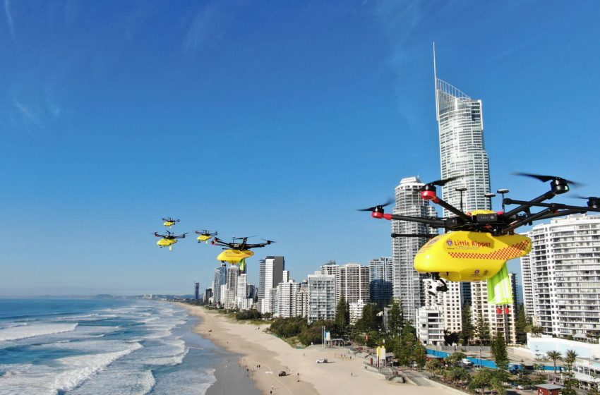 SLSQ invests in world-first- hi-tech drone rescue enterprise – sUAS News