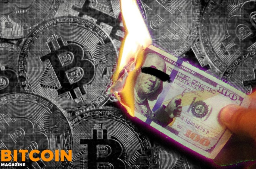 Bitcoin Death Of The US Dollar