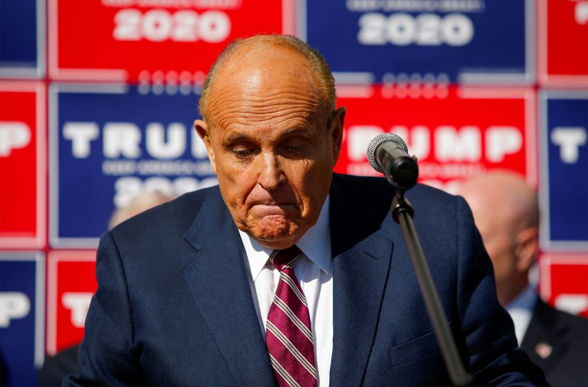 Warrant for Giuliani's phones, computers seeks communications with over a dozen people