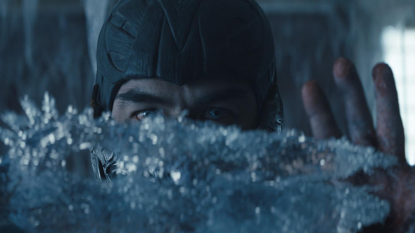 JOE TASLIM as Sub-Zero/Bi-Han in 'Mortal Kombat'