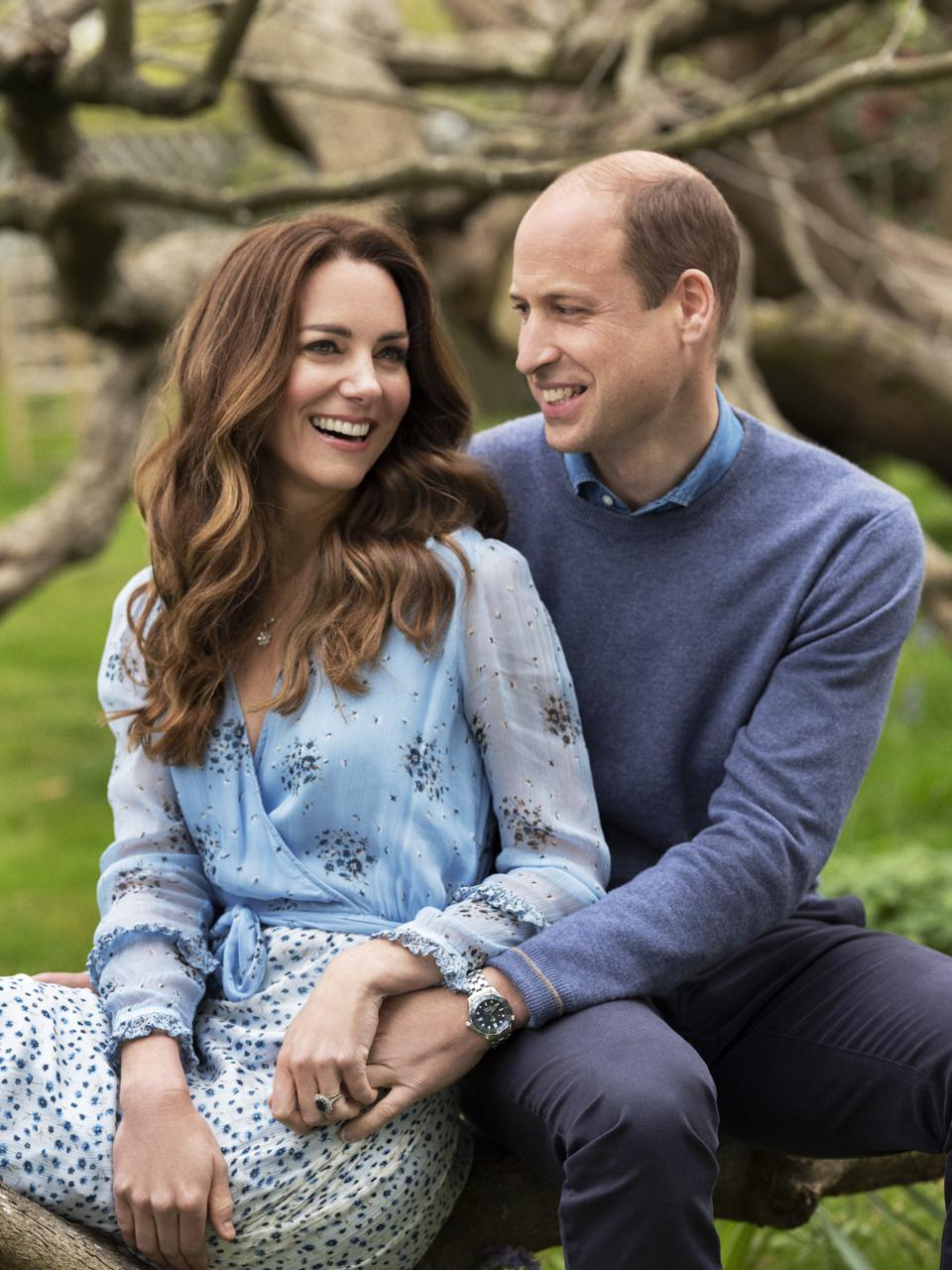 Kate Middleton and Prince William  celebrate 10th wedding anniversary