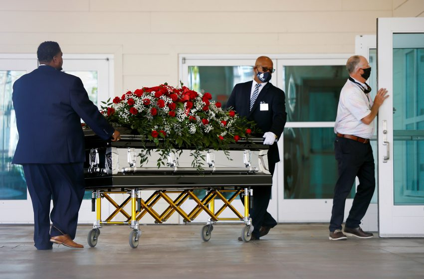 Mourners gather for Andrew Brown Jr. viewing, memorial service in North Carolina