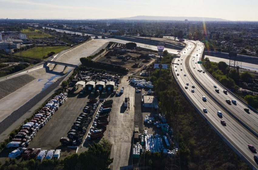 Pollution, evictions block 710 Freeway expansion