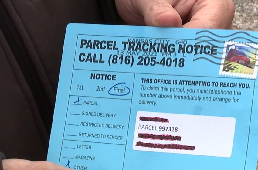 Experts warn of potential delivery scam through the mail