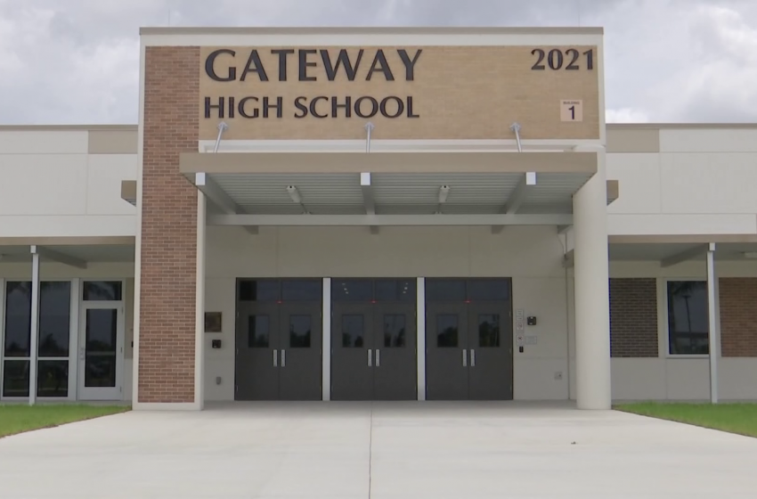 Gateway High School set to open next year with new technology that makes it safe