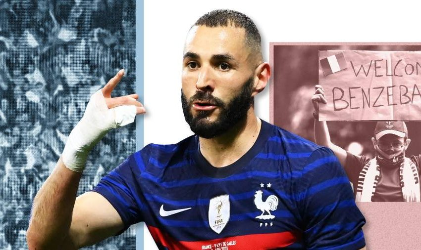 France's prodigal striker is political football for far-right fans