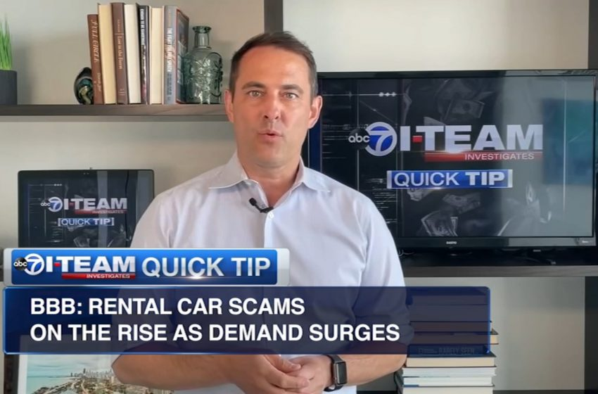Car rental scams surge as demand skyrockets for summer road trips, vacations