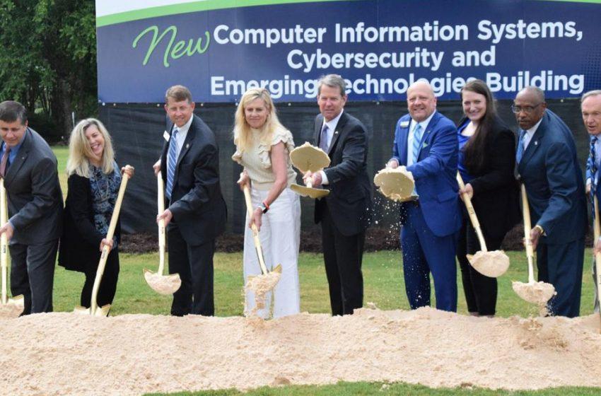 Gwinnett Tech, Gov. Brian Kemp break ground on new computer information systems, cybersecurity education building | News