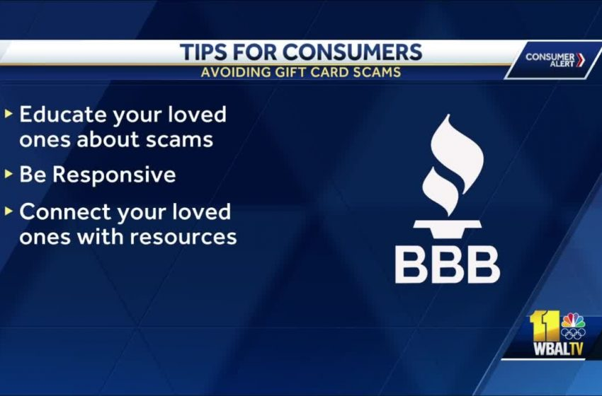 Scam warning over gift cards