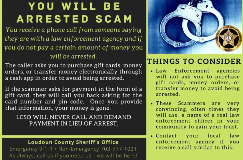 Loudouners an increasingly popular target for scammers; Sheriff's Office offers tips to stay secure | News