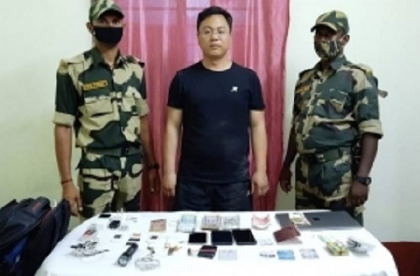 'Arrested Chinese intruder a PLA-run university student' — Scam Guards