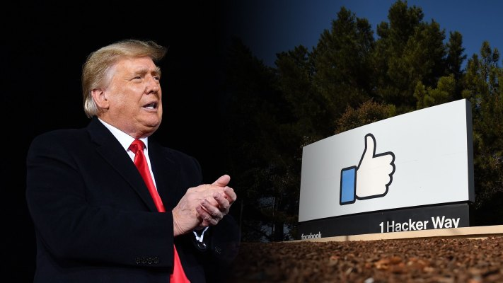 Facebook extends Trump's suspension until January 2023 – TechCrunch