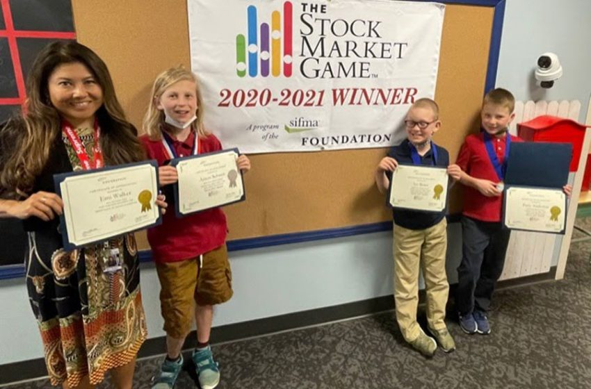 White Pine students learn about finances through stock market simulation