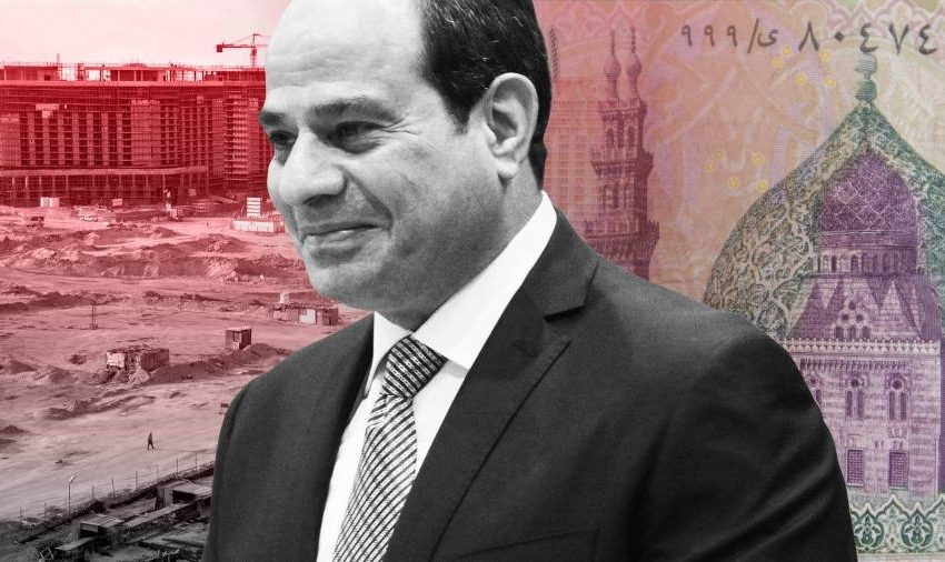 A new capital in the Egyptian desert: Sisi's military model for the economy