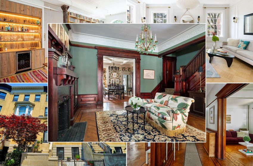 Top 10 Brooklyn Real Estate Listings: A Prospect Park South Standalone, a Park Slope Brownstone