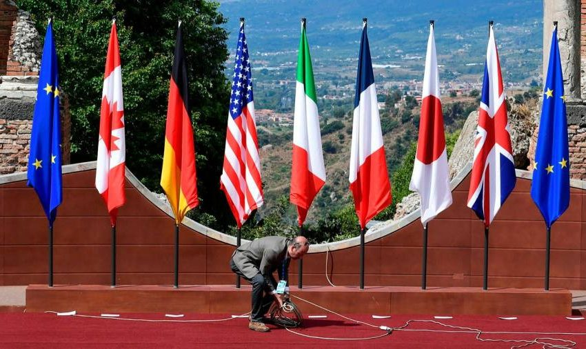 The G7 is the west's last chance to lead
