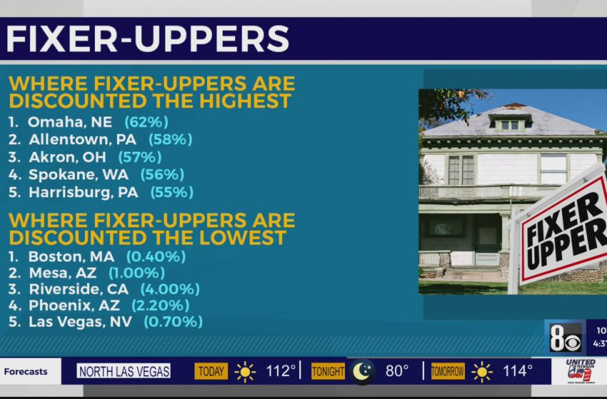 Discounts for fixer-uppers nearly non-existent in Las Vegas real estate market