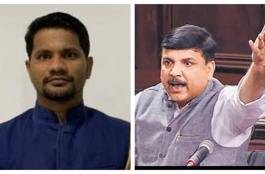 AAP leader Ratnesh Mishra accuses Sanjay Singh of being 'anti-Lord Ram', says his allegations on Ram Mandir attack on faith