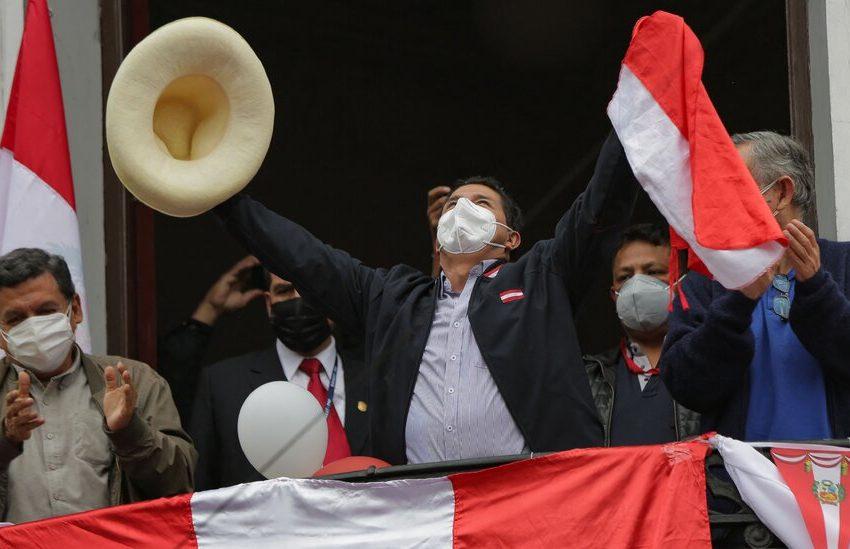 Pedro Castillo, Leftist Political Outsider, Wins Peru Presidency