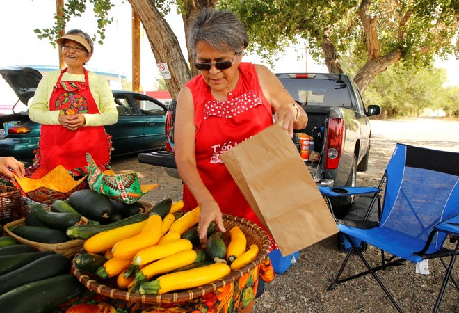 Shiprock Farmers' Market opens for the 2021 season