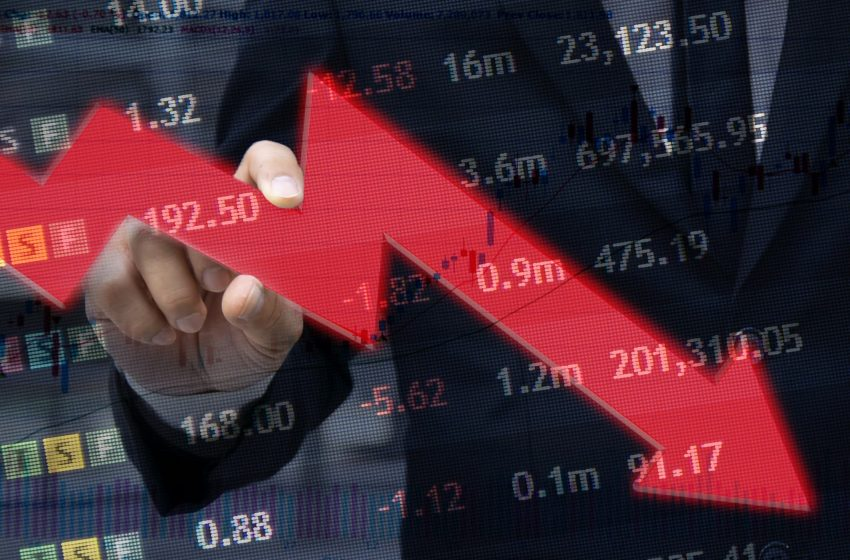 The stock market is down. Should you sell?