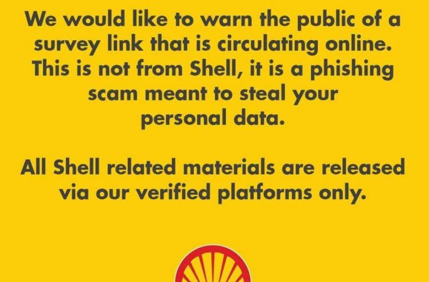 Shell warns public against new phishing scam – Manila Bulletin