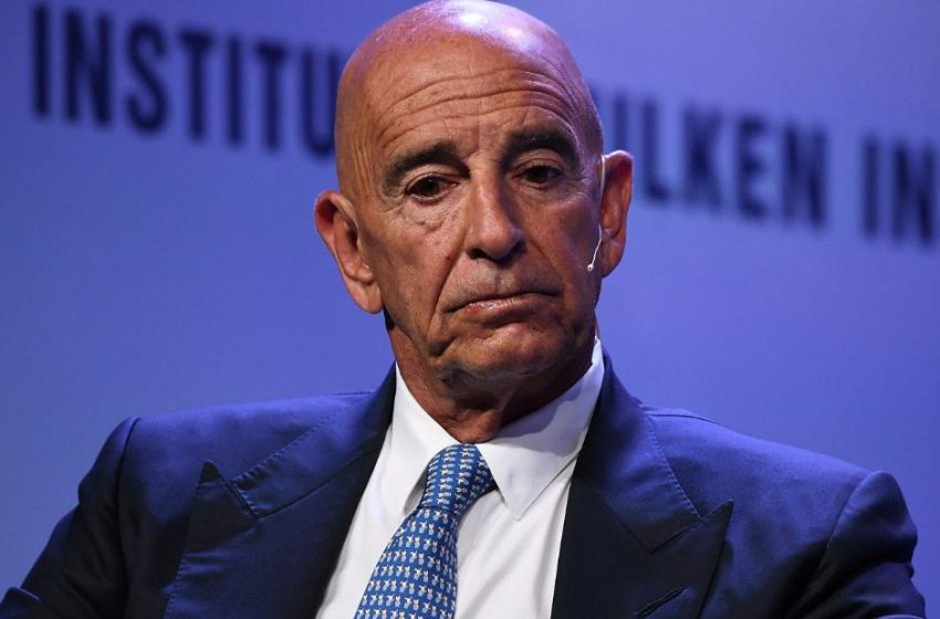 Tom Barrack charged with acting as an agent of a foreign government
