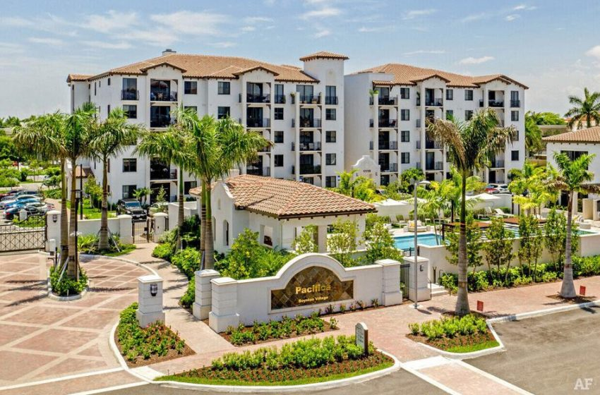 An Affiliate of Walton Street Capital, L.L.C. Acquires Pacifica, a 324-unit Apartment Complex Near West Palm Beach   Business