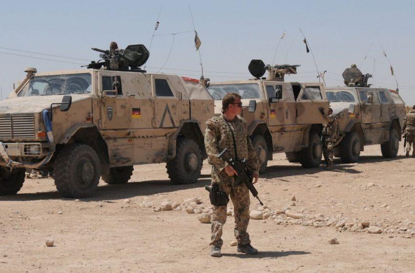 German militarism and the war in Afghanistan