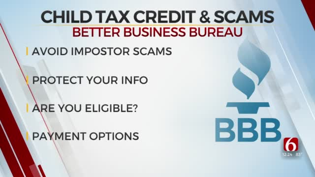 Amie Mitchell With The Better Business Bureau Discusses How To Avoid Child Tax Credit Scams