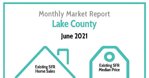 Lake County Real Estate Monthly Market update for June 2021