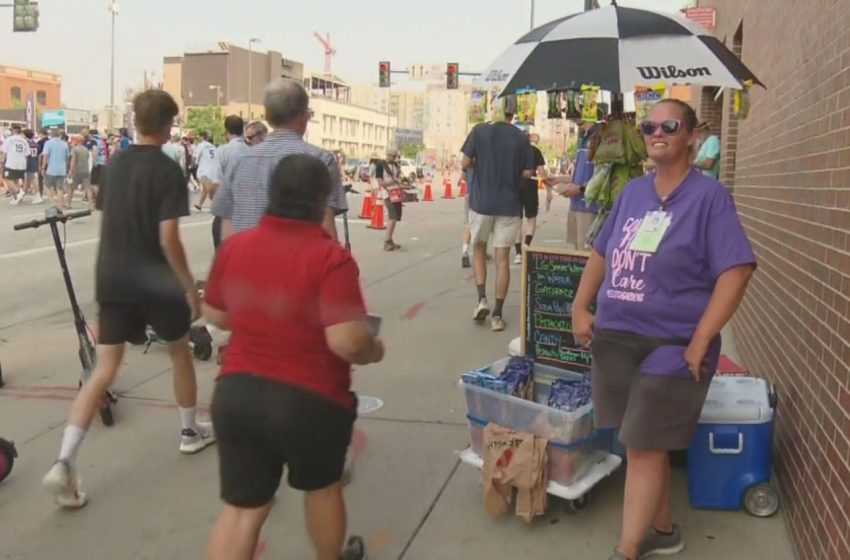 Small Colorado Vendors Outside Coors Field Relieved To See Business Again – CBS Denver