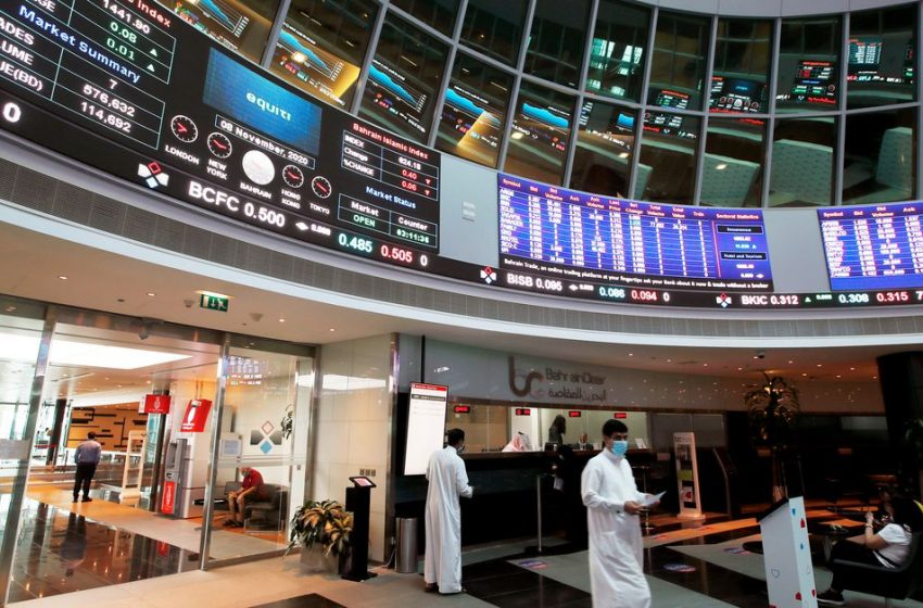 MIDEAST STOCKS Abu Dhabi hits record high; other major Gulf bourses ease