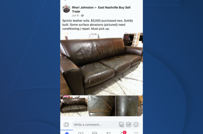 Just how easy is it to fall for an online scam? NewsChannel 5's Rhori Johnston found out when he tried to sell a couch