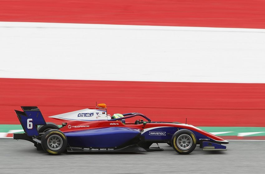 David Schumacher takes maiden win