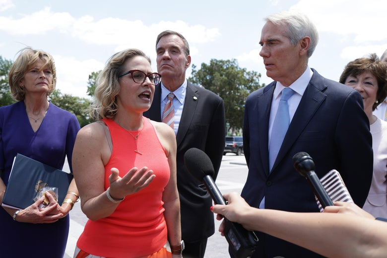 Kyrsten Sinema's commitment to bipartisanship is based on a bygone political climate.