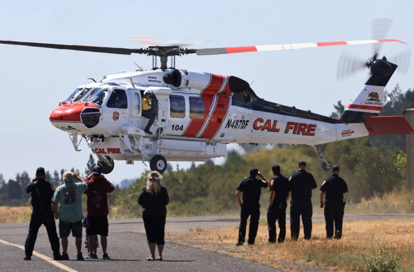 New $24 million helicopter brings military technology to California firefighting