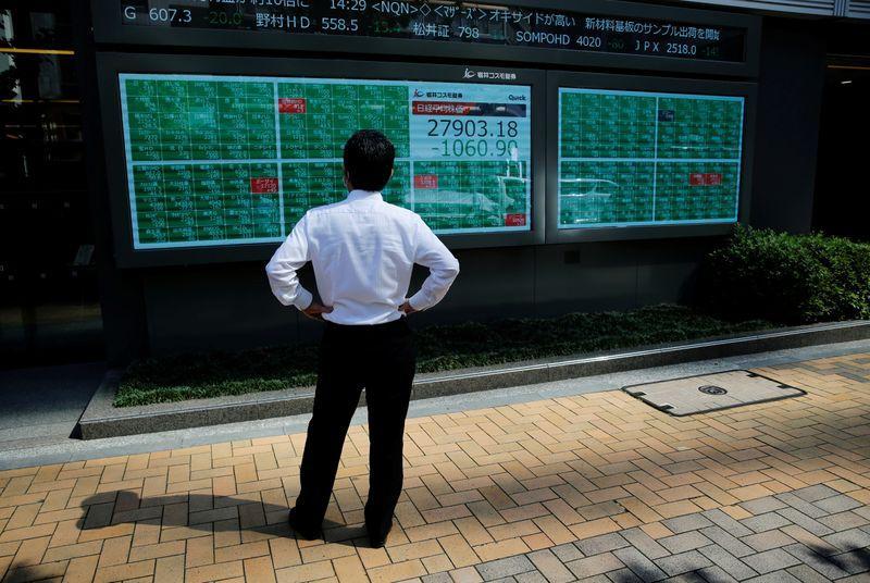 Asia opens higher, but China tech worries weigh on Hong Kong