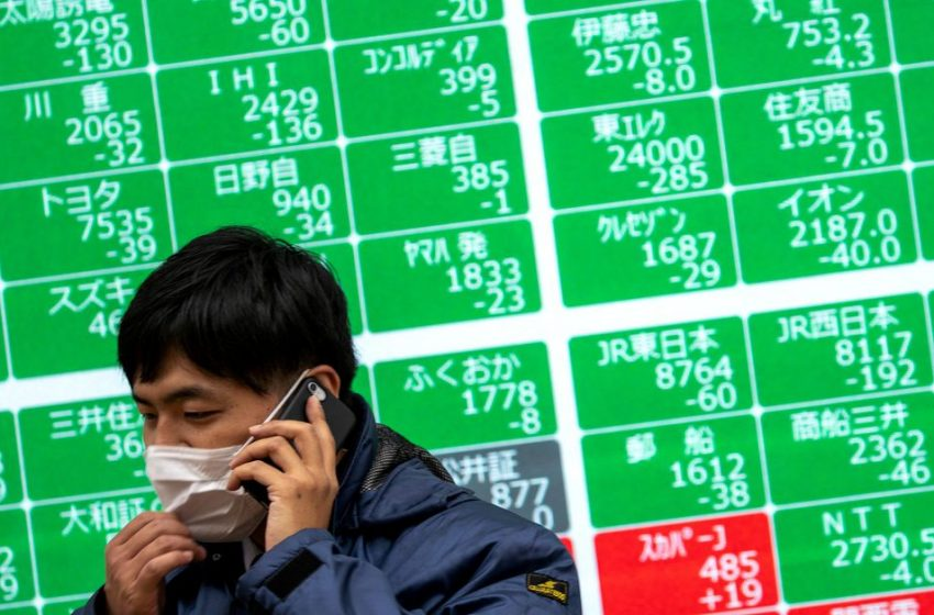 Asia shares mixed, mull implications of U.S. jobs shock