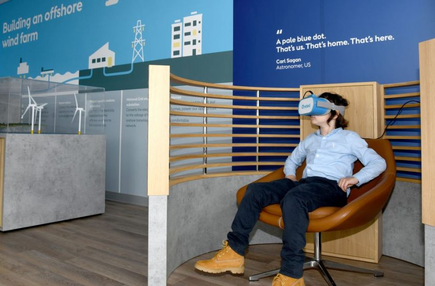 Offshore wind industry opened up with hi-tech visitor centre as careers set to rocket in coming years