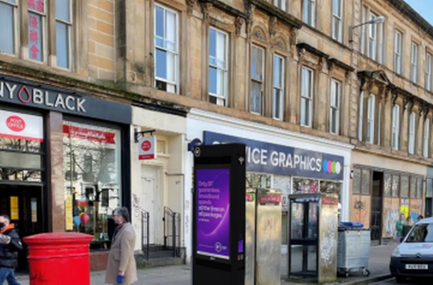 Glasgow phone boxes set to be replaced with hi-tech public 'tablets'