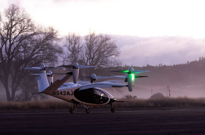 NASA to measure the noise of Joby's electric air taxi
