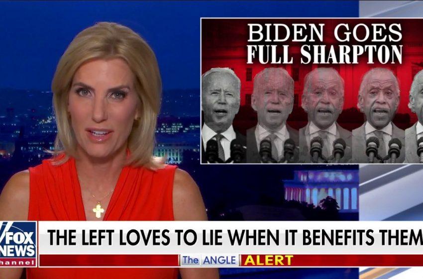 Ingraham: Biden goes 'Full Sharpton' — 'Lying' about border patrol, boosting IRS to surveil average Americans