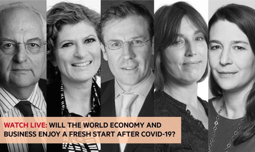 Watch live: will the post-Covid world economy enjoy a fresh start?