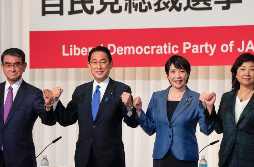 Japan's ruling party chooses new leader to replace Suga   Politics News