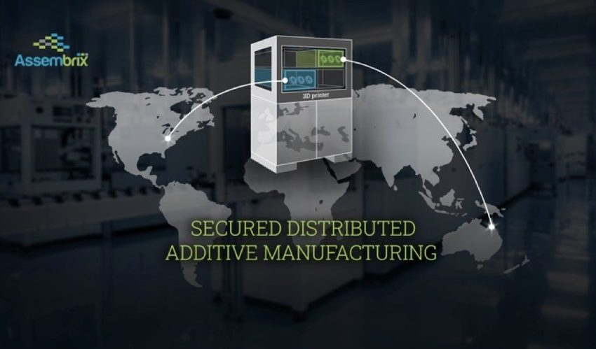 Assembrix, partners with EOS, BEAMIT, 3T Additive Manufacturing and Boeing to demonstrate the secured cross-continent, distributed Additive Manufacturing