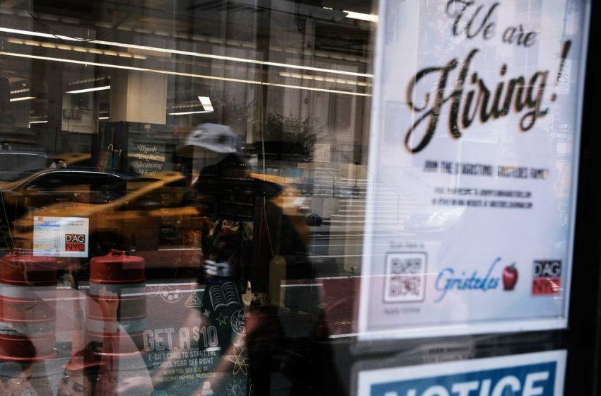 US hiring slows sharply as latest coronavirus surge slams brakes on economy