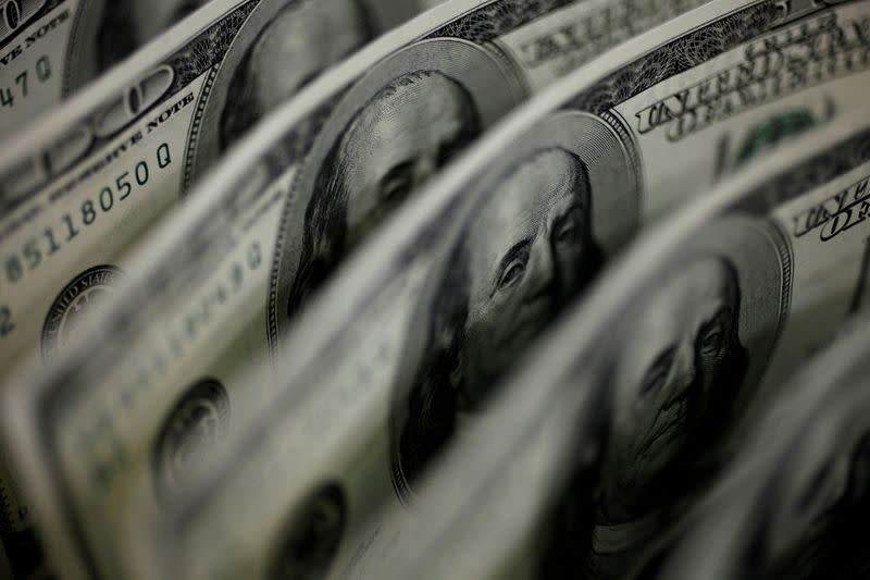 Dollar near one-month low as payrolls test looms