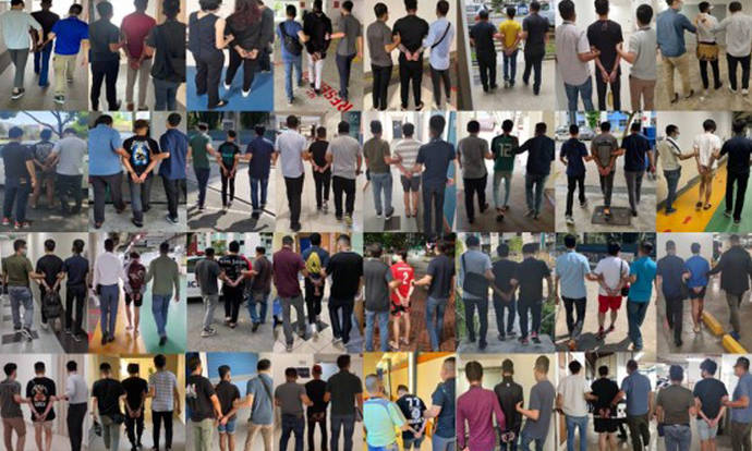 71 arrested for allegedly perpetrating job scams by selling their bank accounts, SingPass credentials