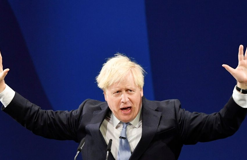 As Johnson Draws a Happy Face, Britons Confront a Run of Bad News